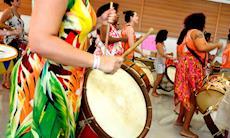 De Recife para todo o Brasil: a energia e o poder da mulher no baque