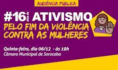Violência contra a mulher é tema de audiência pública nesta quinta