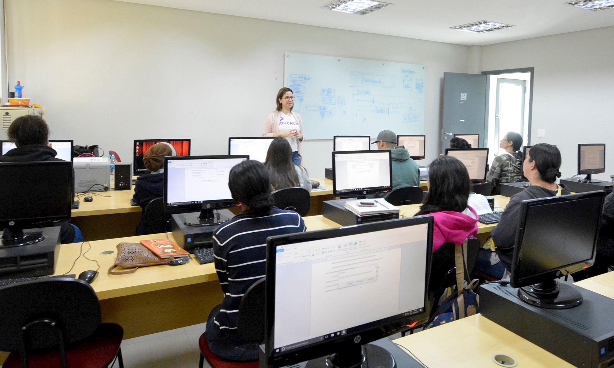 informatica, curso, rise, smetal, qualificação, Foguinho/ Arquivo SMetal