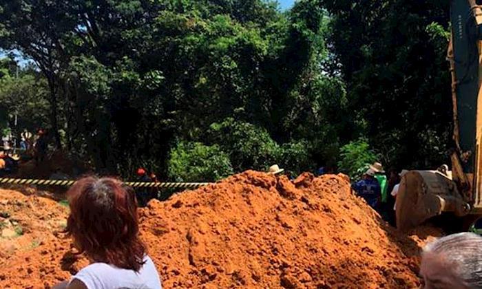 Trabalhador morre soterrado após acidente em obra do Saae