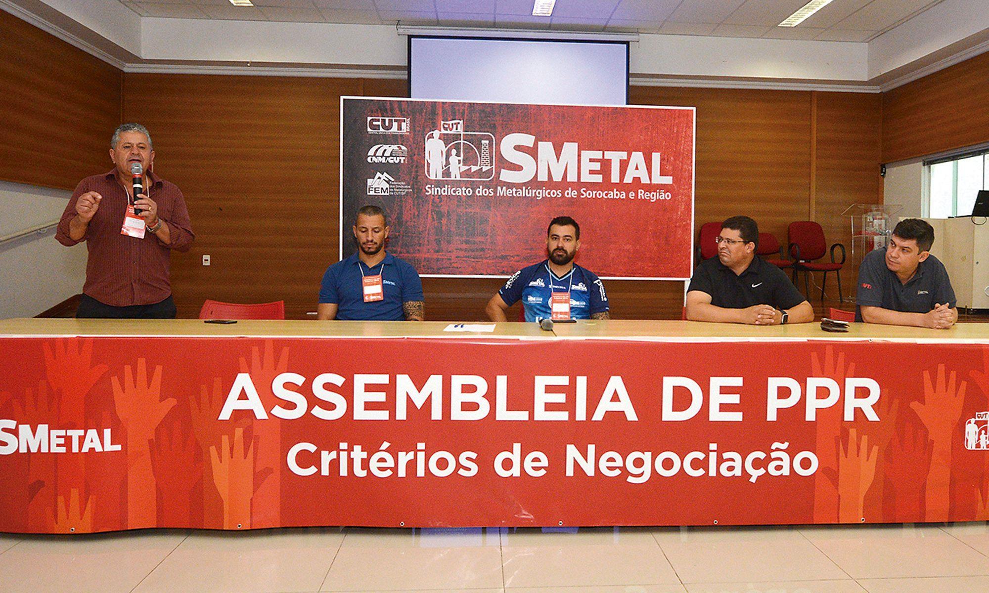 ppr, assembleia, critério, smetal, sindicato,, Foguinho/Imprensa SMetal