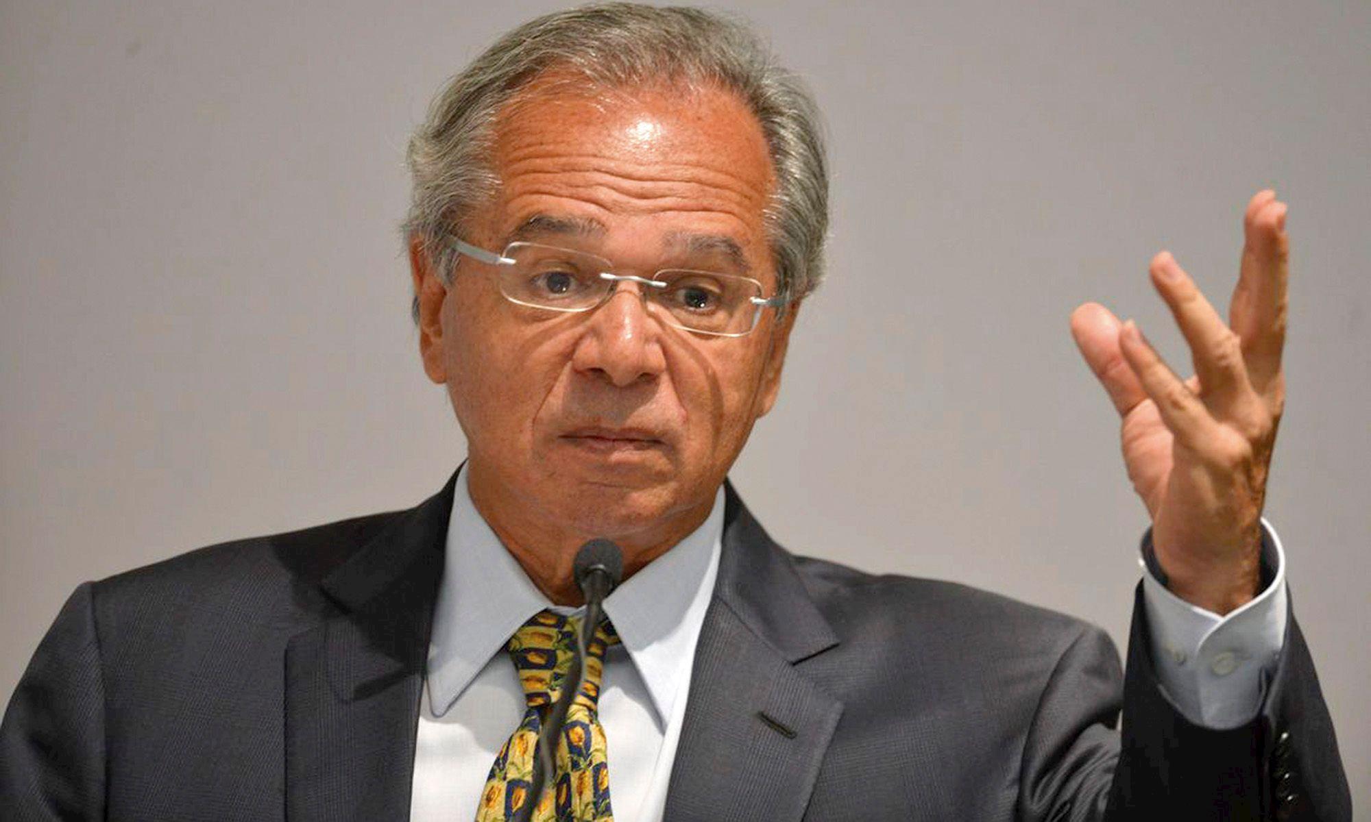 paulo, guedes, economia, ministro,, Valter Campanato/Agência Brasil