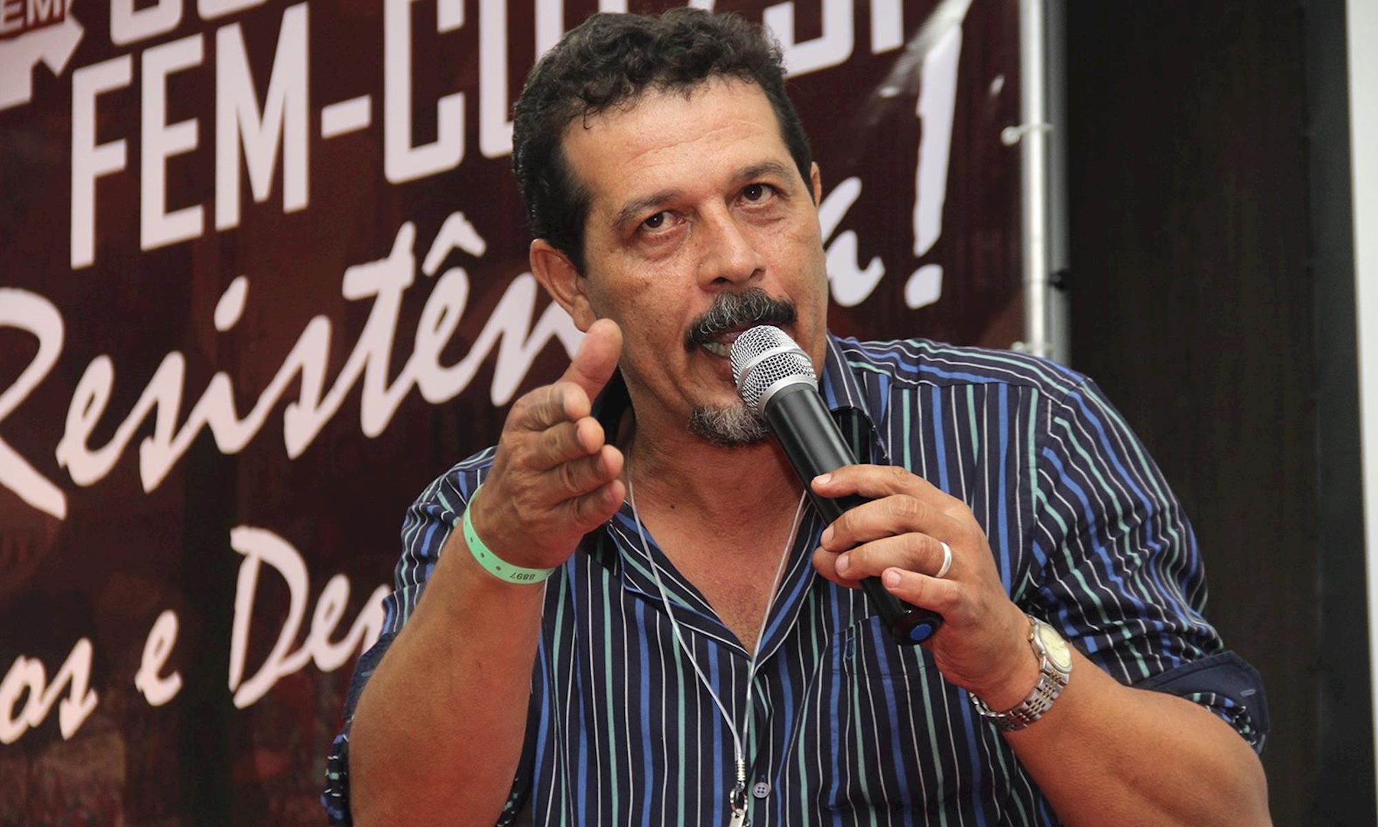 luiz, luizão, fem, congresso, presidente,, Divulgação/ FEM-CUT/SP