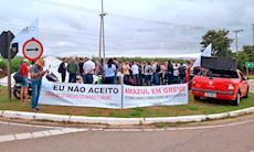 Trabalhadores da Amazul, em Iperó, iniciam greve na quinta-feira, 21