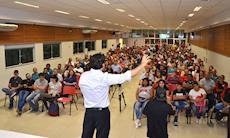 Confira as fotos do debate sobre a Reforma da Previdência no SMetal