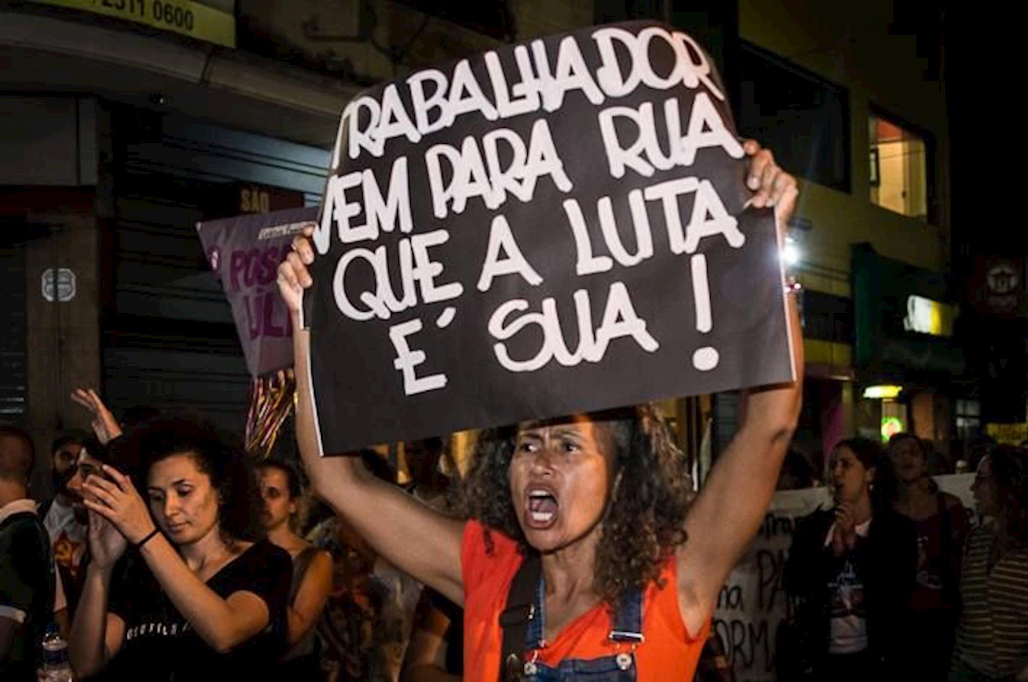 Reforma, Previdência, trabalho, luta, mobilização, aposentadoria, Fabiana Ribeiro | Jornalistas Livres