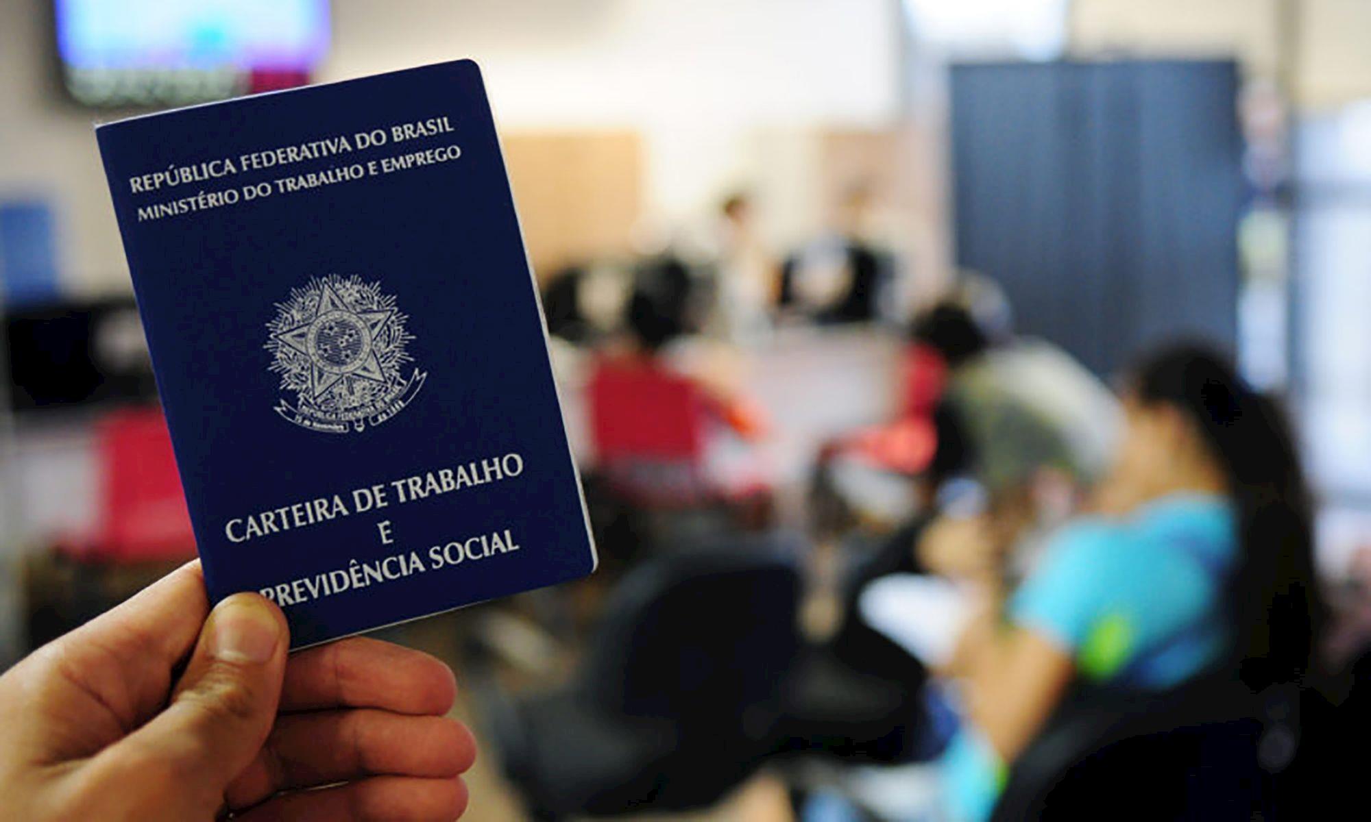 ibge, desemprego, carteira, trabalho, emprego, Pedro Ventura/Agência Brasília