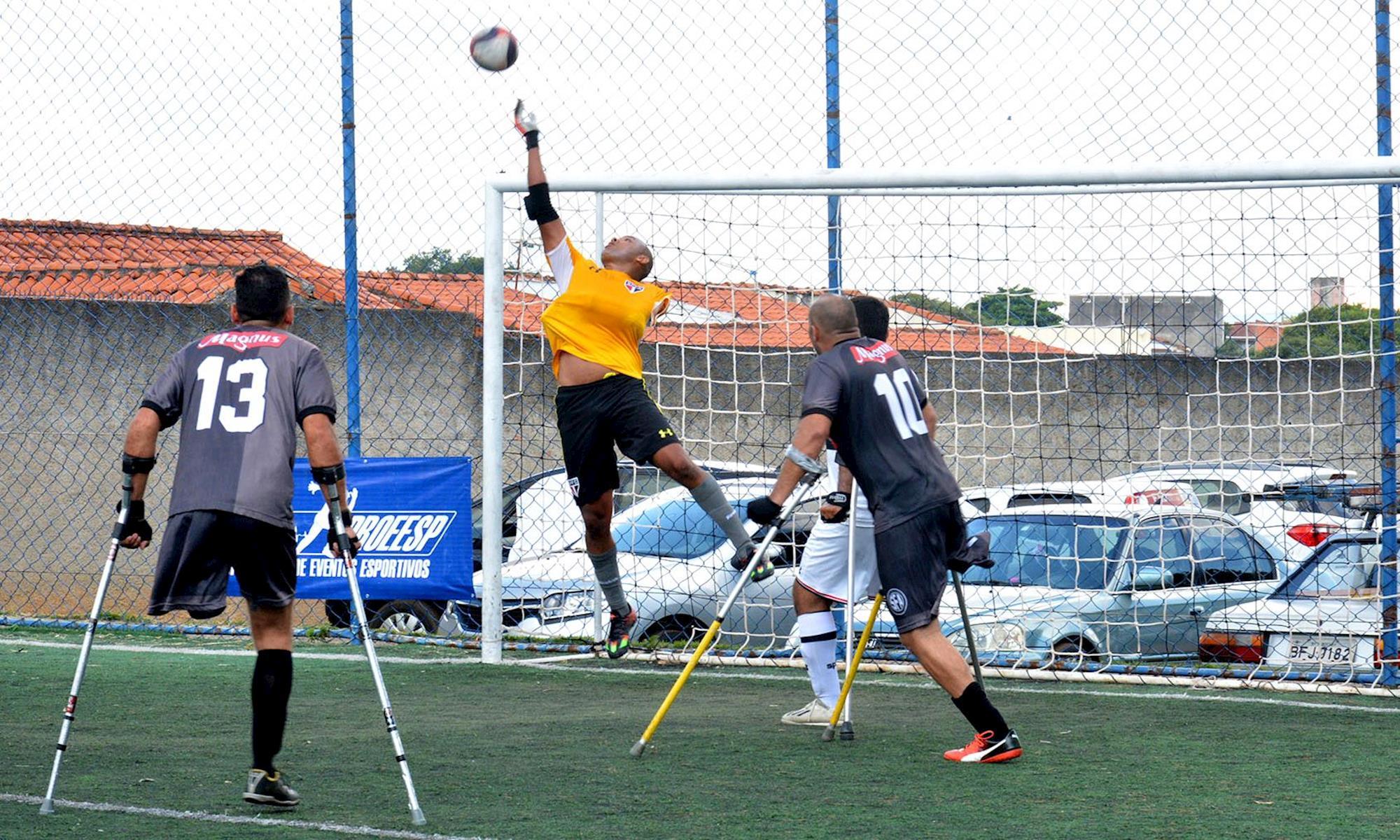 amputado, futebol, magnus, sorocaba, , Foguinho/Imprensa SMetal