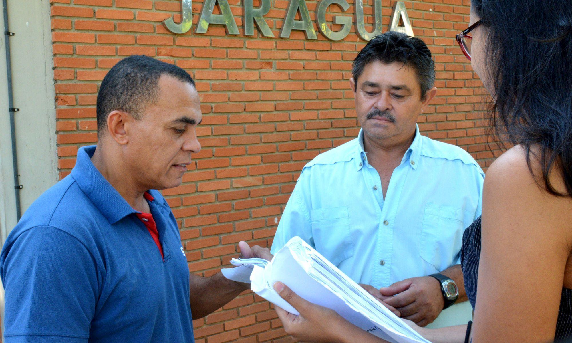 jaragua, reintegração, abraao, ler, Foguinho/Imprensa SMetal