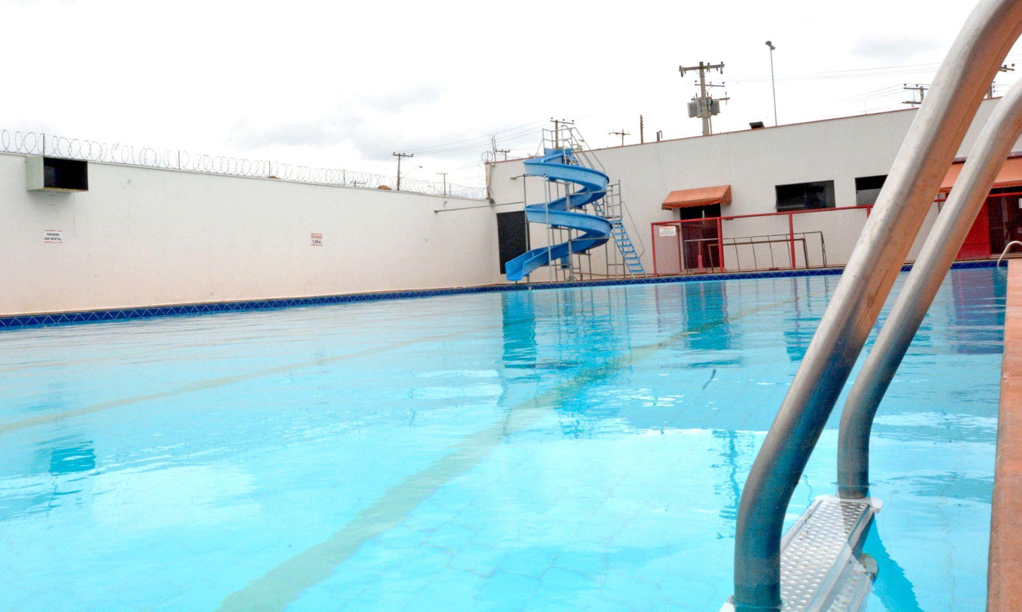 clube, campo, piscina, fecha,, Foguinho/Imprensa SMetal
