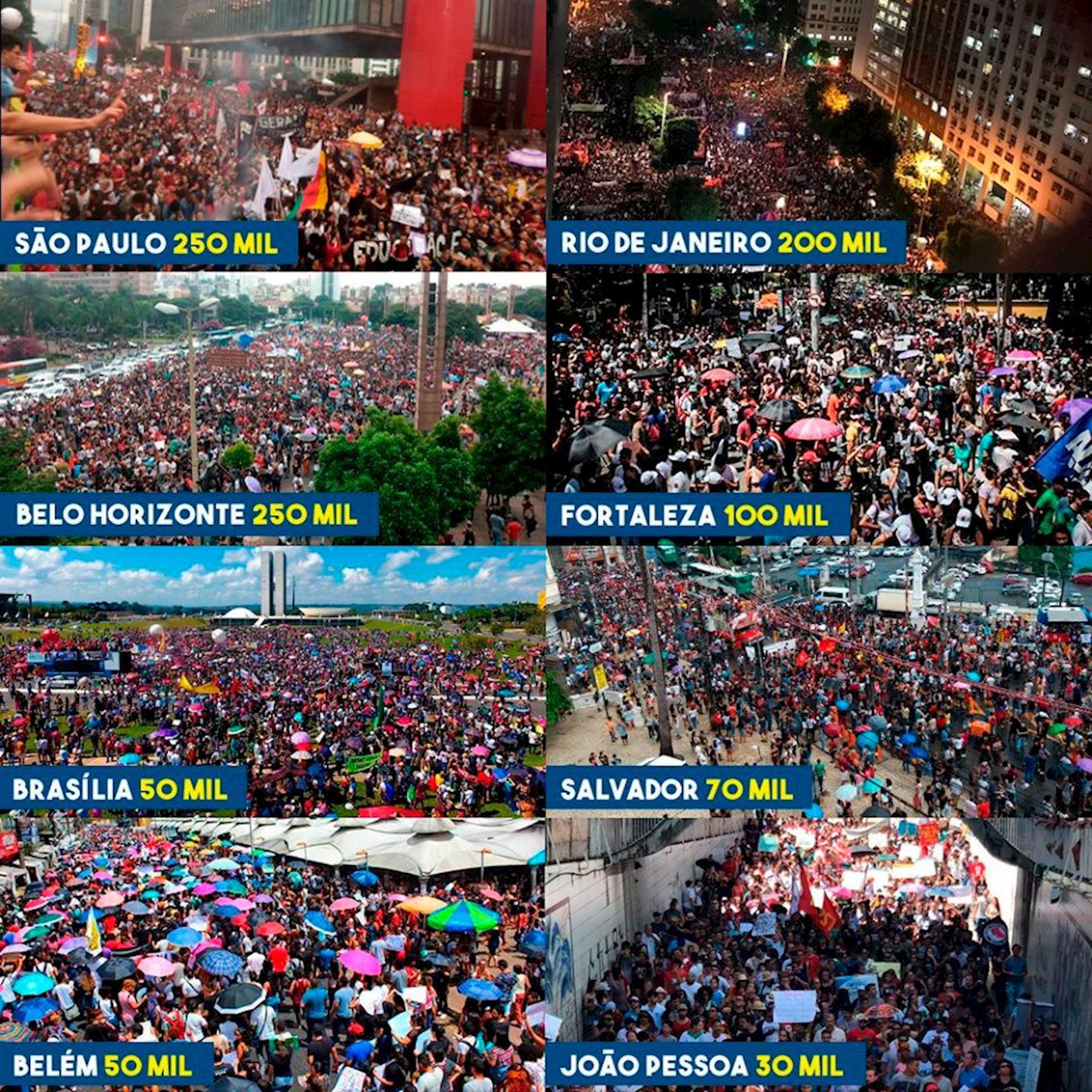 protestos, brasil, são paulo, educação, previdência,, Divulgação/Levante Popular da Juventude