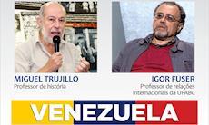 Debate aborda os conflitos na Venezuela na próxima terça, dia 28