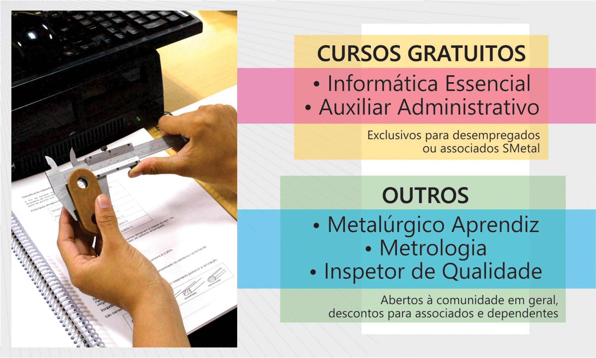 rise, curso, smetal, sorocaba, informatica, metalúrgico, metrologia, qualificação, Divulgação