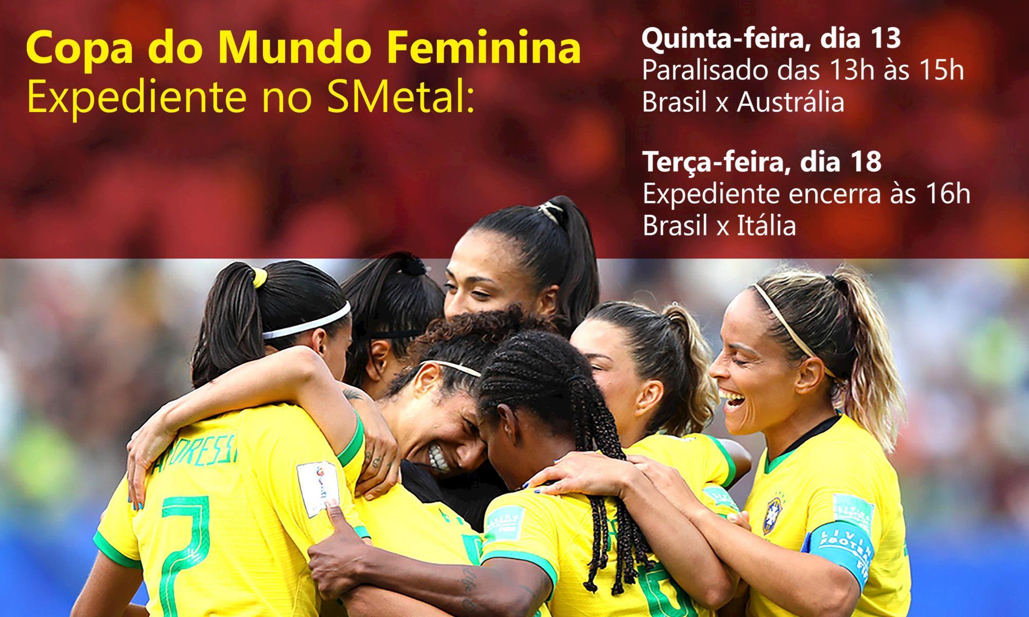 copa, mundo, futebol, feminino, brasil, expediente, Divulgação