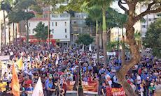 Greve Geral: ruas ocupadas por emprego, pela aposentadoria e por educação