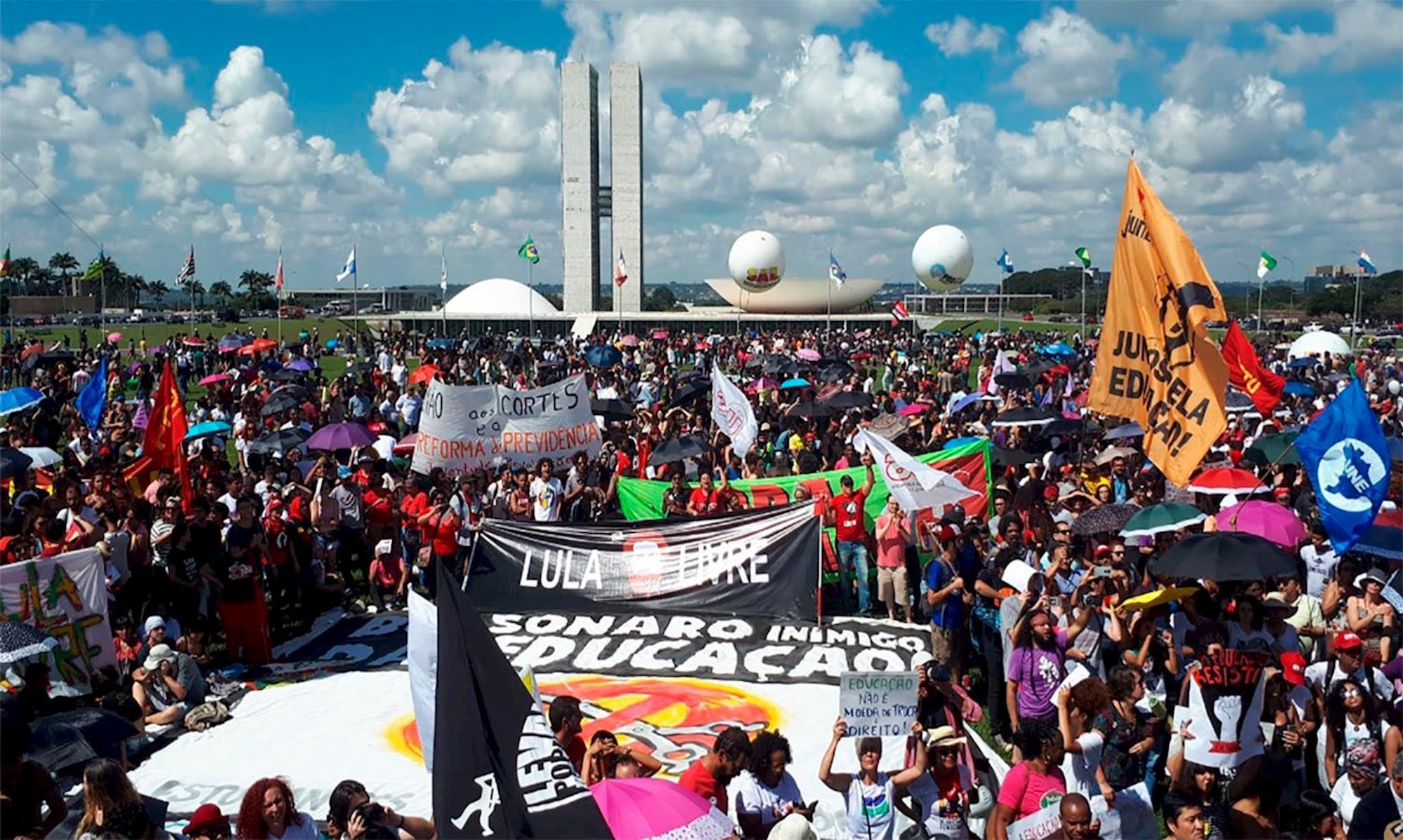 protesto, brasilia, tsunami, educação, MARCIELE BRUM/PCDOB NA CÂMARA