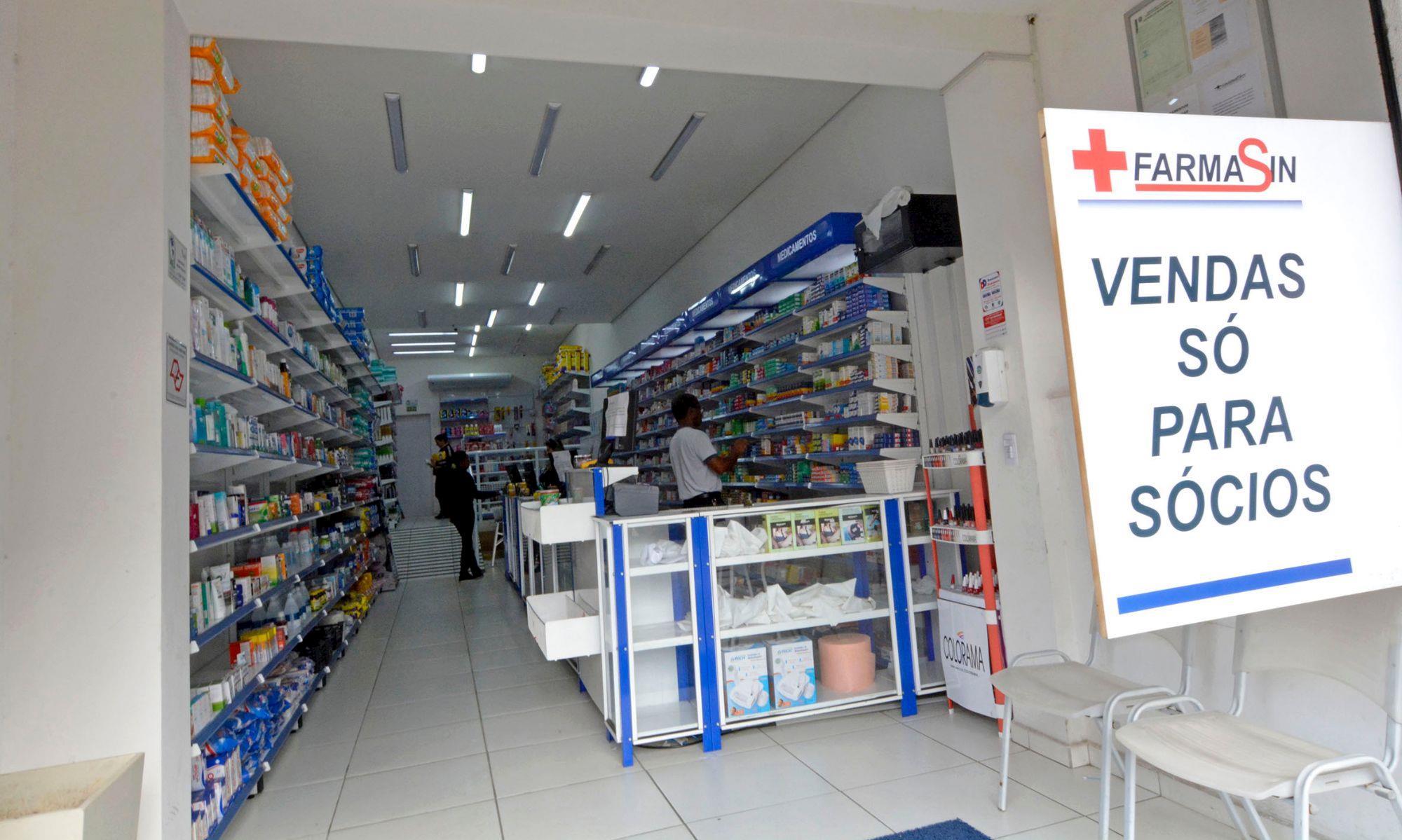 farmasin, farmácia, medicamento, desconto, convênio, sorocaba, Foguinho/Imprensa SMetal