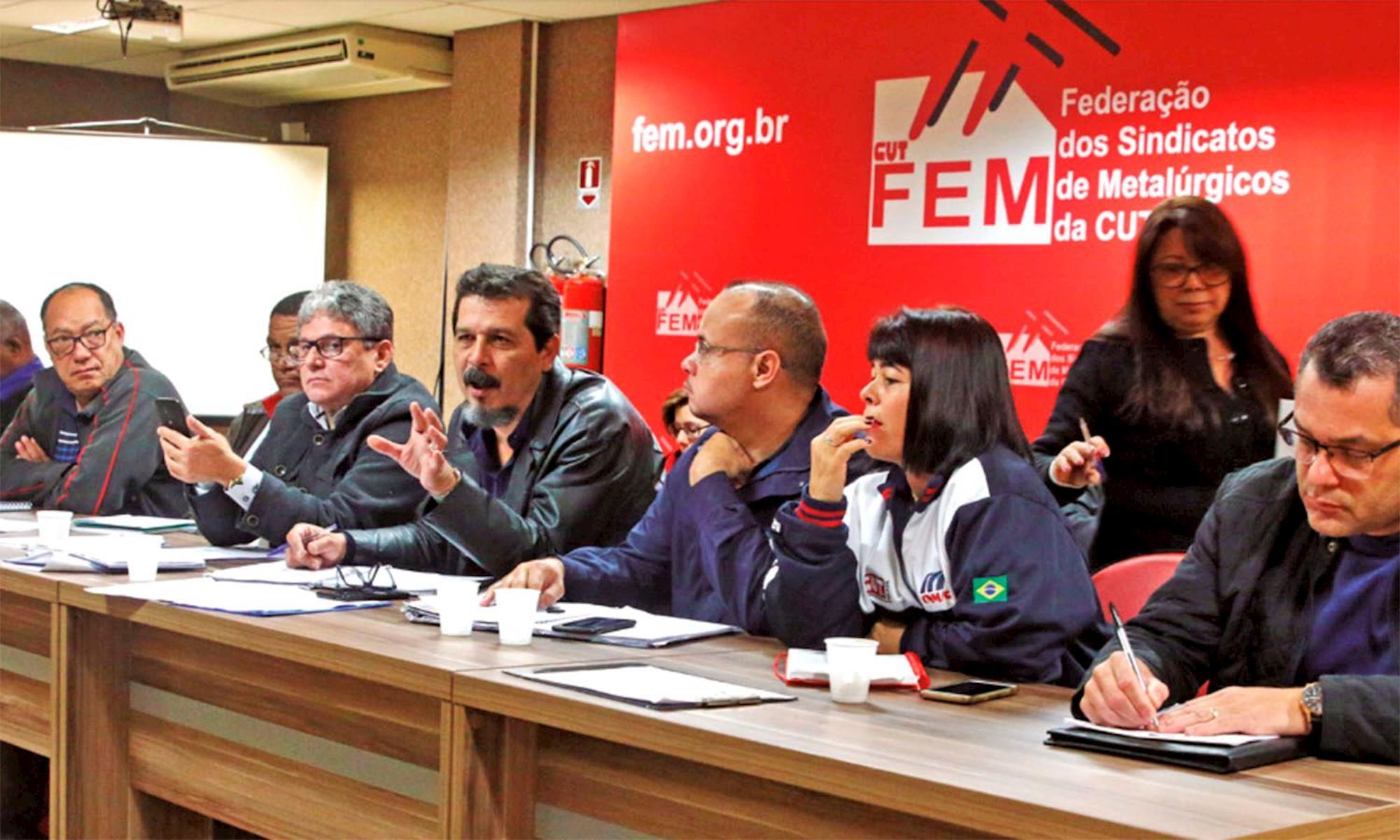 campanha, salarial, fem, cut, luizão,,  Raquel Camargo