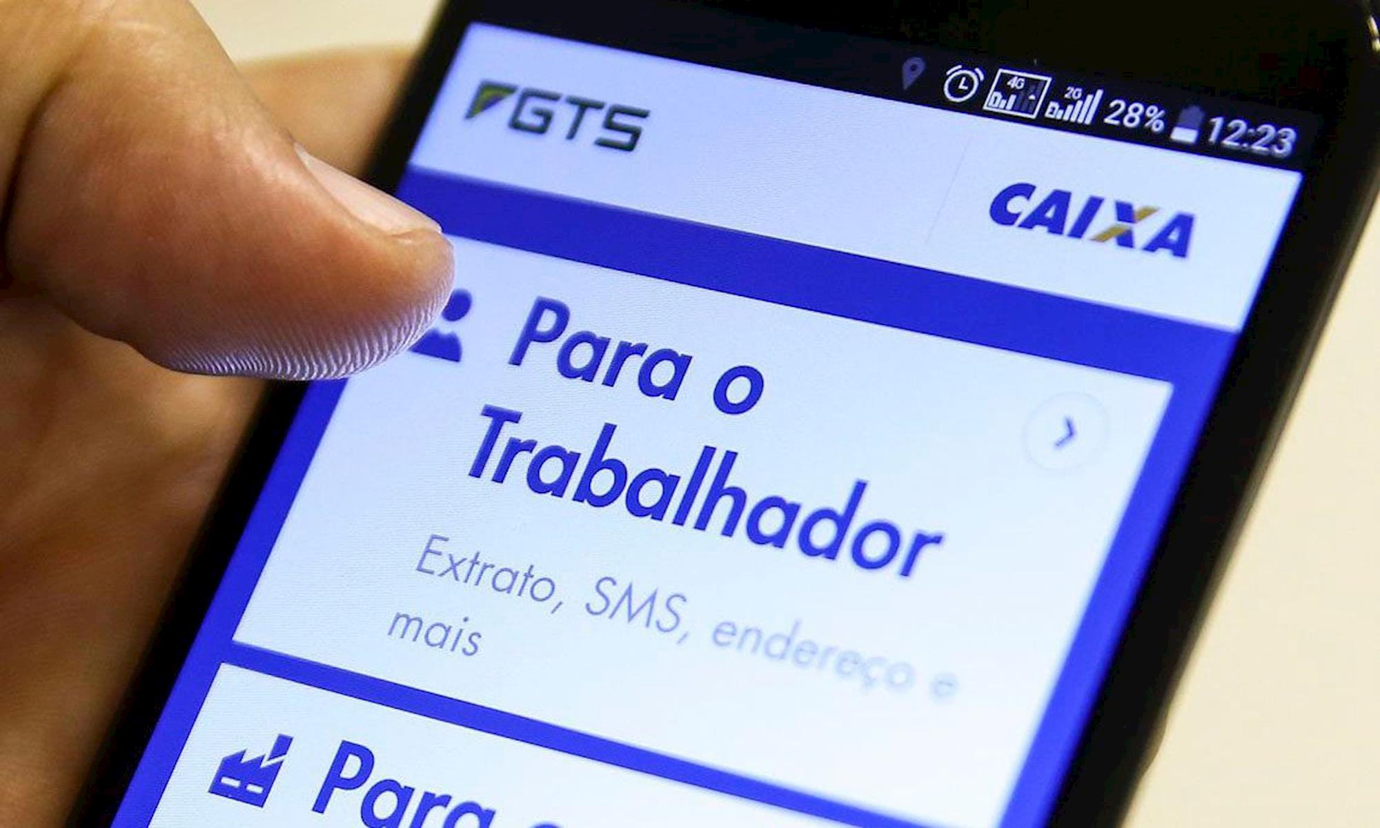 fgts, poupança, conta, saque, automático,, Marcelo Camargo/Agência Brasil