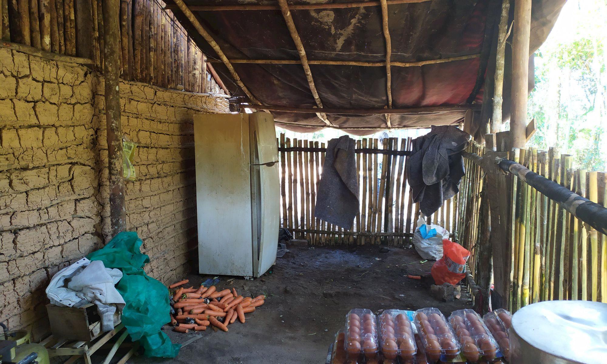 cozinha, aldeia, tapirai, guarani, BAS, Fernanda Ikedo/Imprensa SMetal