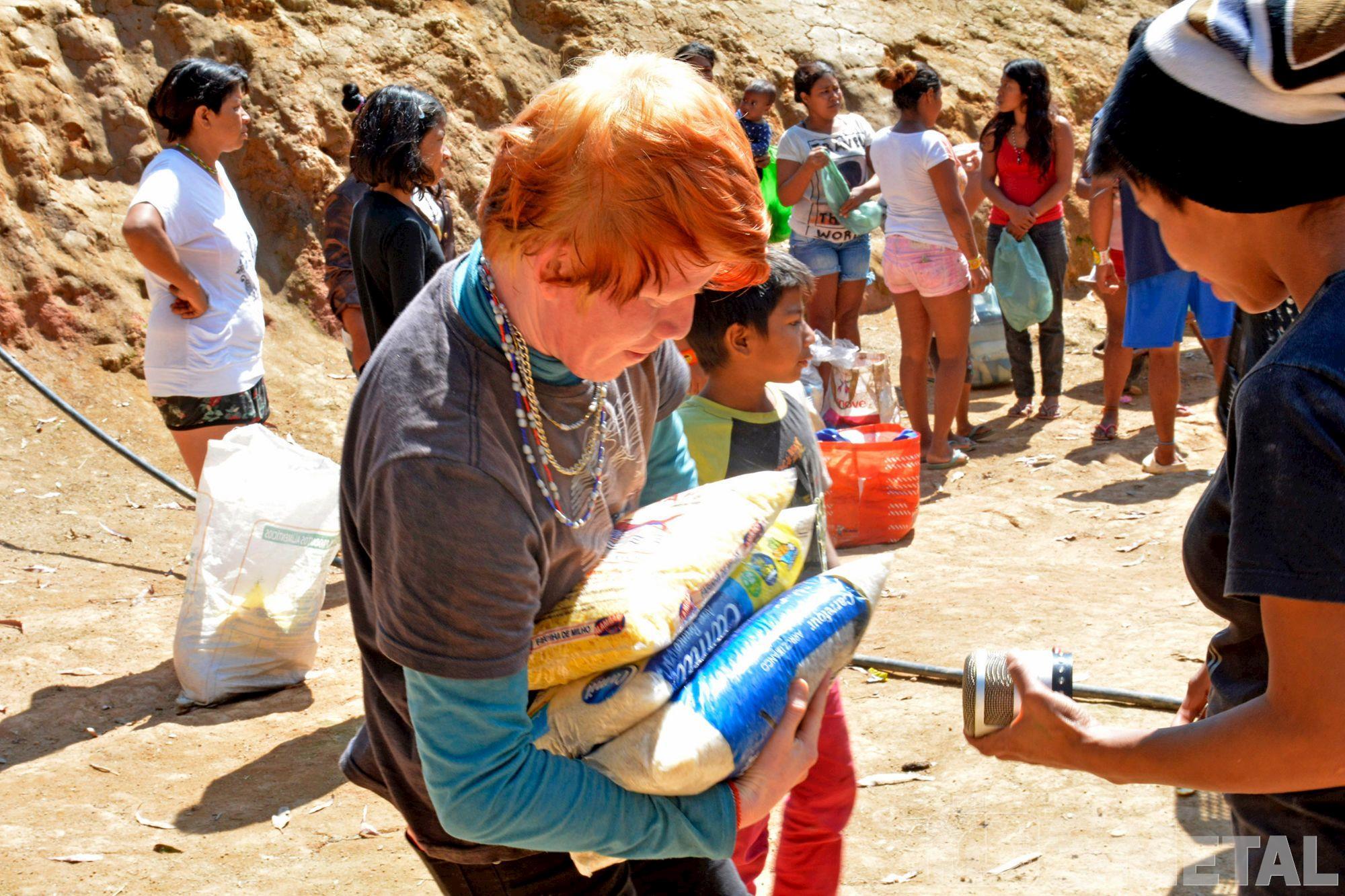 Aldeia indígena guarani-MBya,  em Tapiraí, Aldeia,  indígena,  guarani,  ação. banco,  alimentos,  doação,  tapiraí, Foguinho/Imprensa SMetal, Os desafios de uma aldeia guarani cercada por eucaliptos