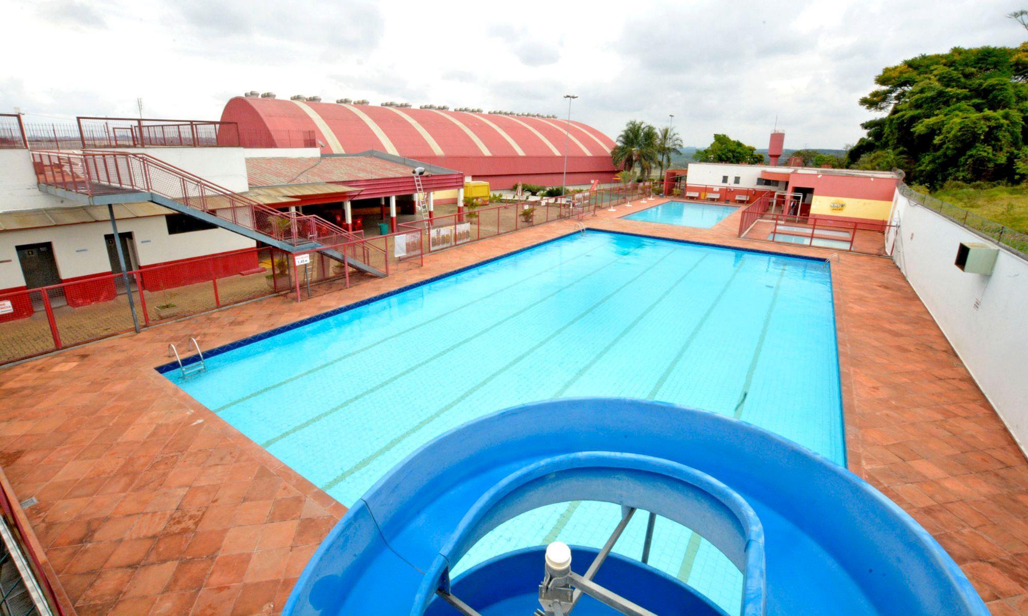 piscina, smetal, exame, médico, clube, campo, Arquivo/Foguinho Imprensa SMetal