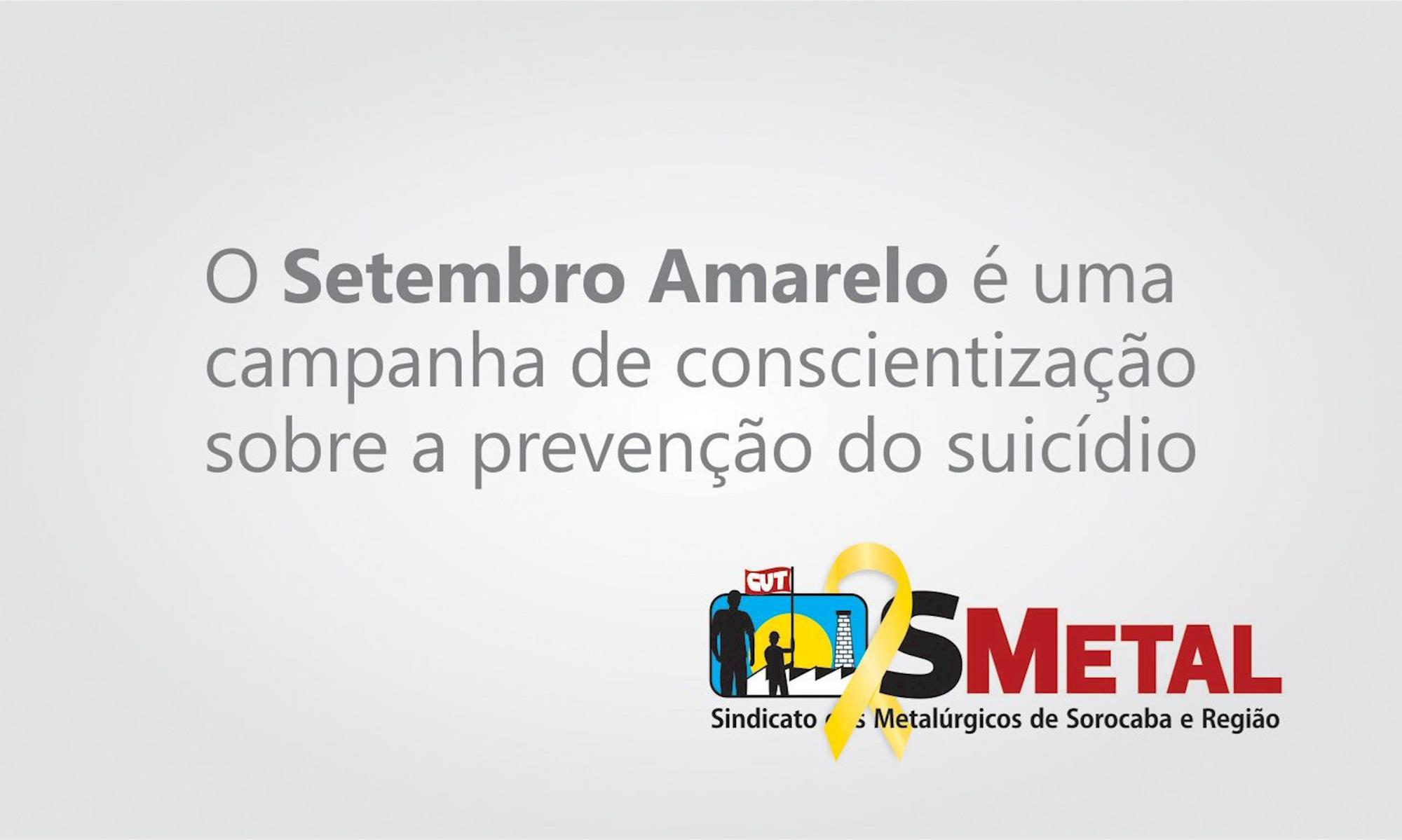 suicídio, setembro, amarelo, campanha, depressão, smetal, Divulgação