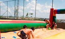 Dia das Crianças foi comemorado com muitas atrações no Clube de Campo