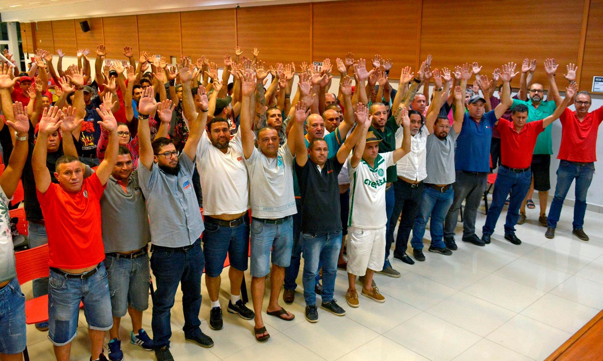 Trabalhadores conquistam acordo no G8.2, G8.3, Sindicel e Sindratar