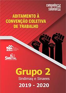 Aditamento à Convenção Coletiva 2019-2020 - Grupo 2