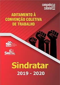 Aditamento à Convenção Coletiva 2019-2020 - Sindratar