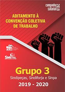 Aditamento à Convenção Coletiva 2019-2020 - Grupo 3