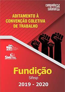 Aditamento à Convenção Coletiva 2019-2020 - Fundição