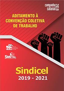 Aditamento à Convenção Coletiva 2019-2021 - Sindicel