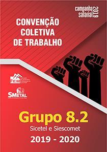 Convenção Coletiva 2019-2020 - Grupo 8.2