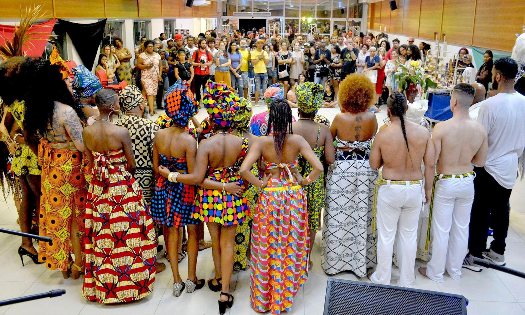 mostra, cultura, negra, desfile, sorocaba, afro,, Foguinho/Imprensa SMetal