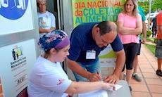 Banco de Alimentos distribui doações do Dia Nacional da Coleta