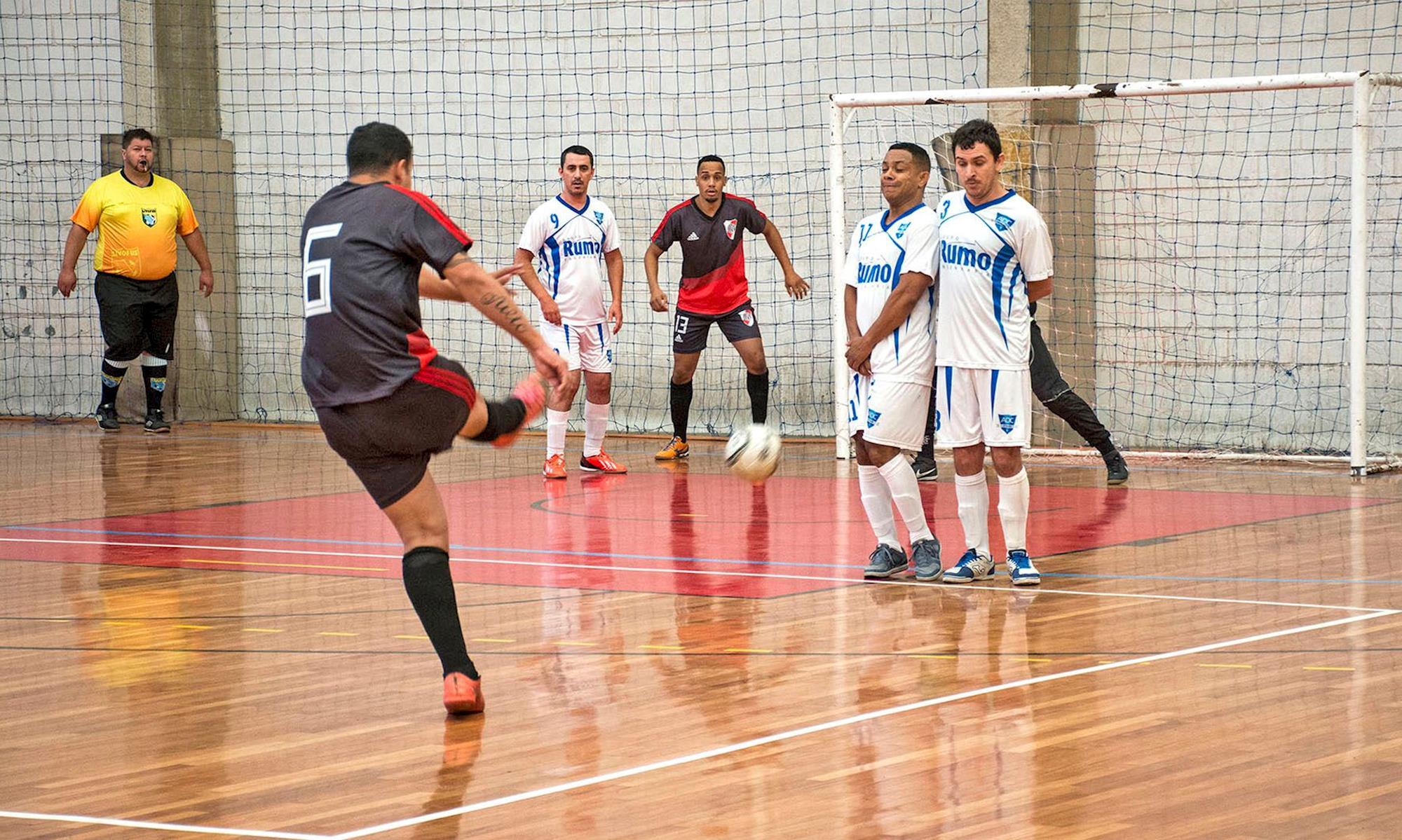jogo, futsal, papagaio, torneio, clube, ginásio, partida,, Foguinho/Imprensa SMetal