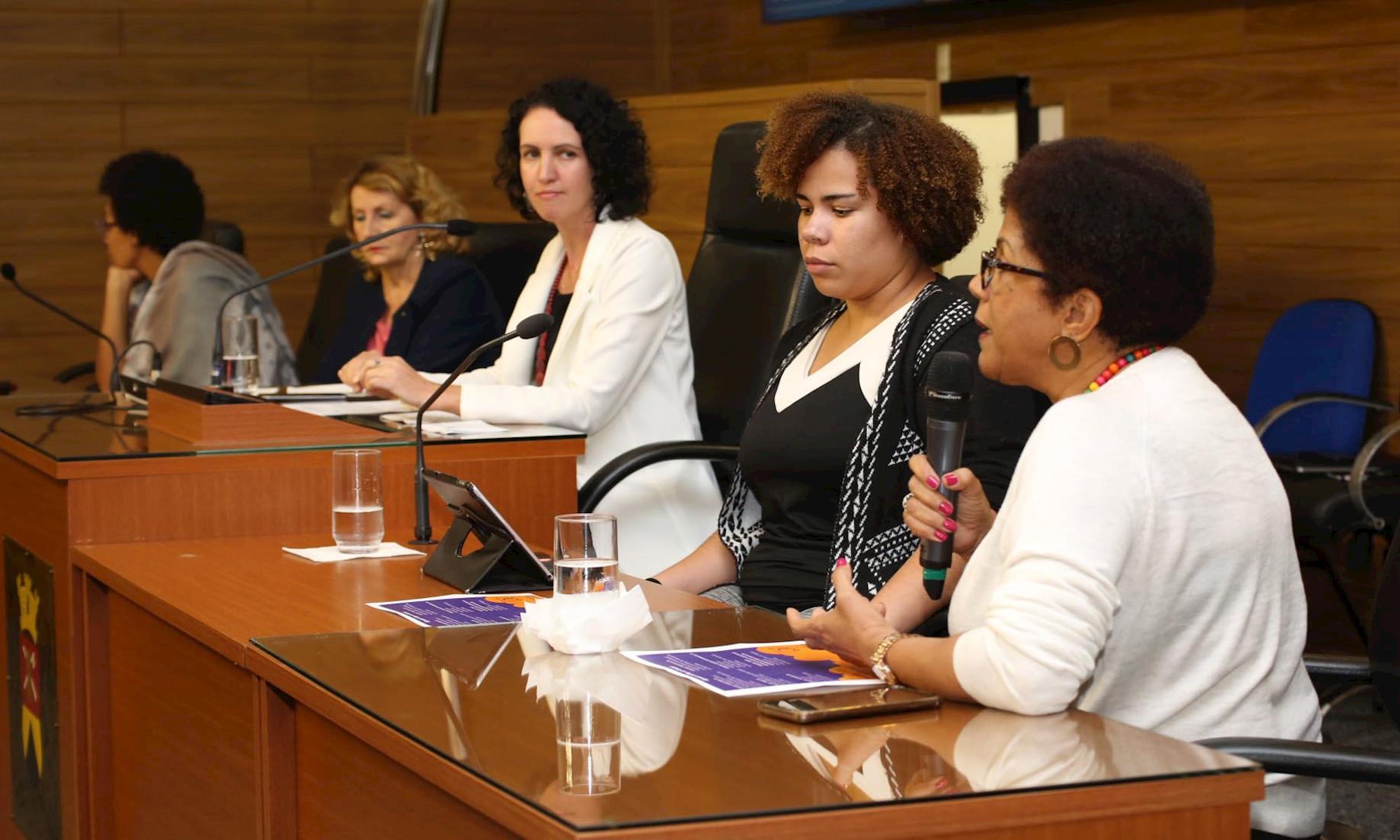 mulher, audiência, pública, conselho, ativismo, SECOM Câmara Municipal