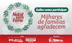 Natal sem Fome chega às ruas e às fábricas de Sorocaba