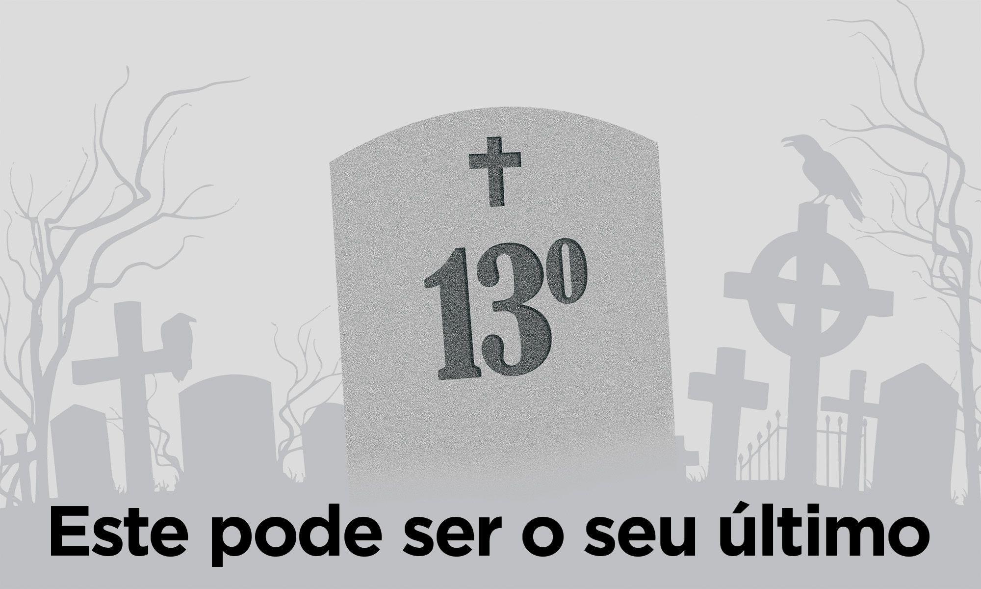 13º, salário, direito, capa,, Arte: Cassio Freire