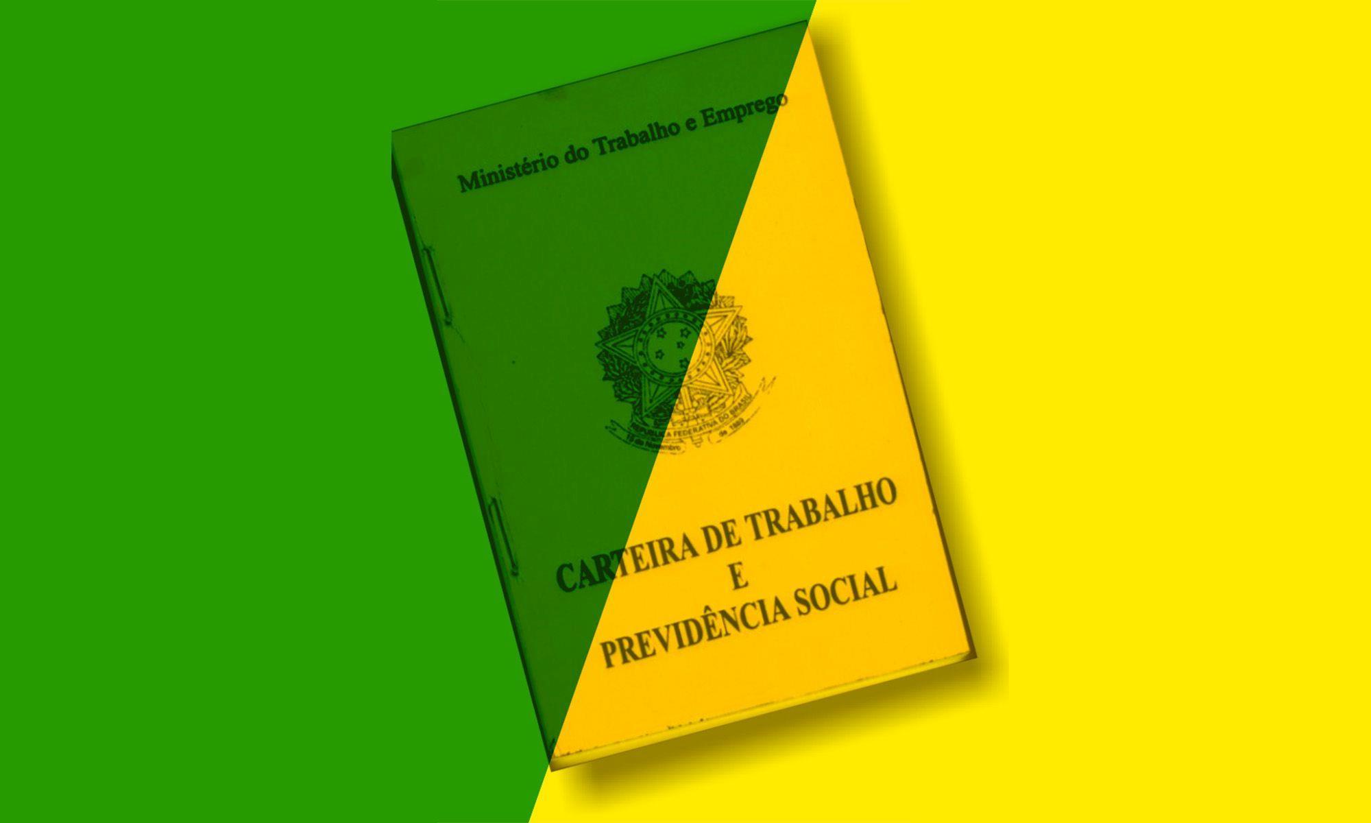mp 905, contratação, verde, amarela, clt,, Divulgação