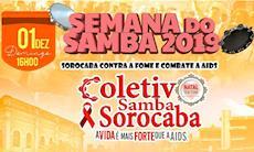 Semana do Samba se une ao Natal sem Fome 2019