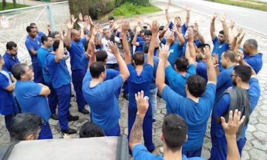 Sidor: trabalhadores protestam contra atraso de salário