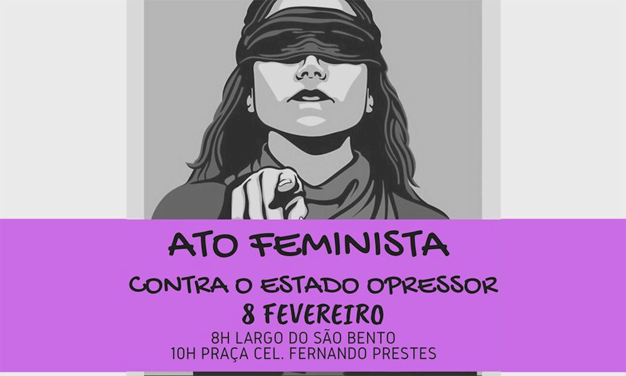 ato, feminista, sorocaba, coreografia, mulher,, Divulgação