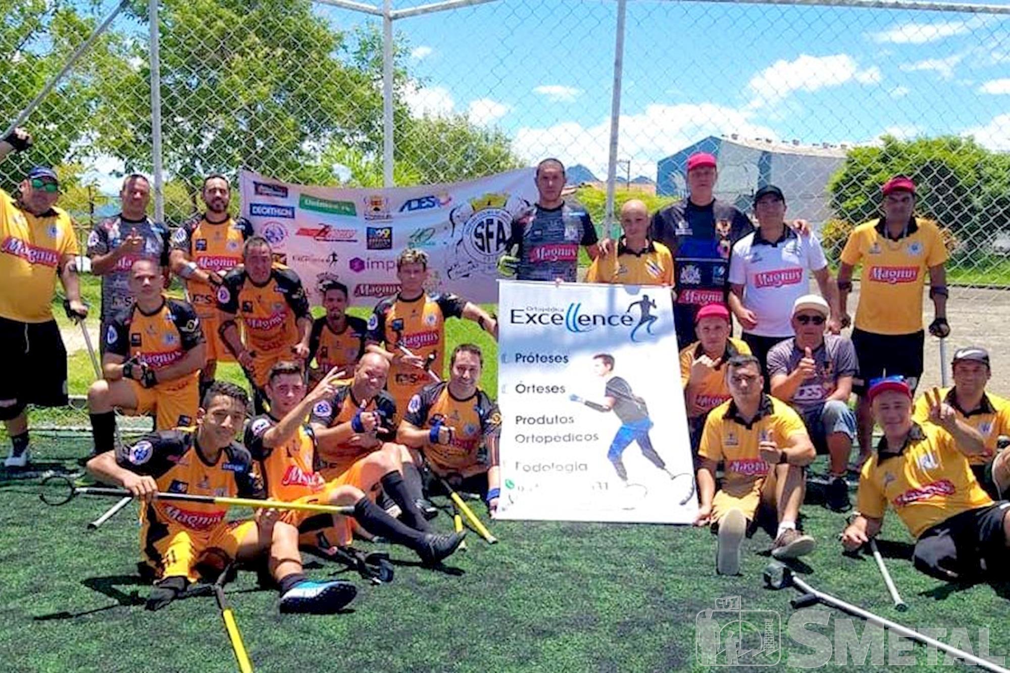 Divulgação / Sorocaba Futebol de Amputados , Time sorocabano de futebol de amputados é campeão da Taça Verão