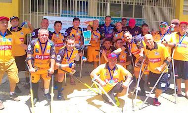Time sorocabano de futebol de amputados é campeão da Taça Verão