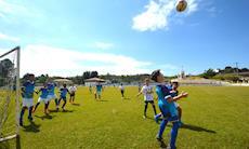 Escolinha do São Bento teve amistoso no final de semana; veja as fotos