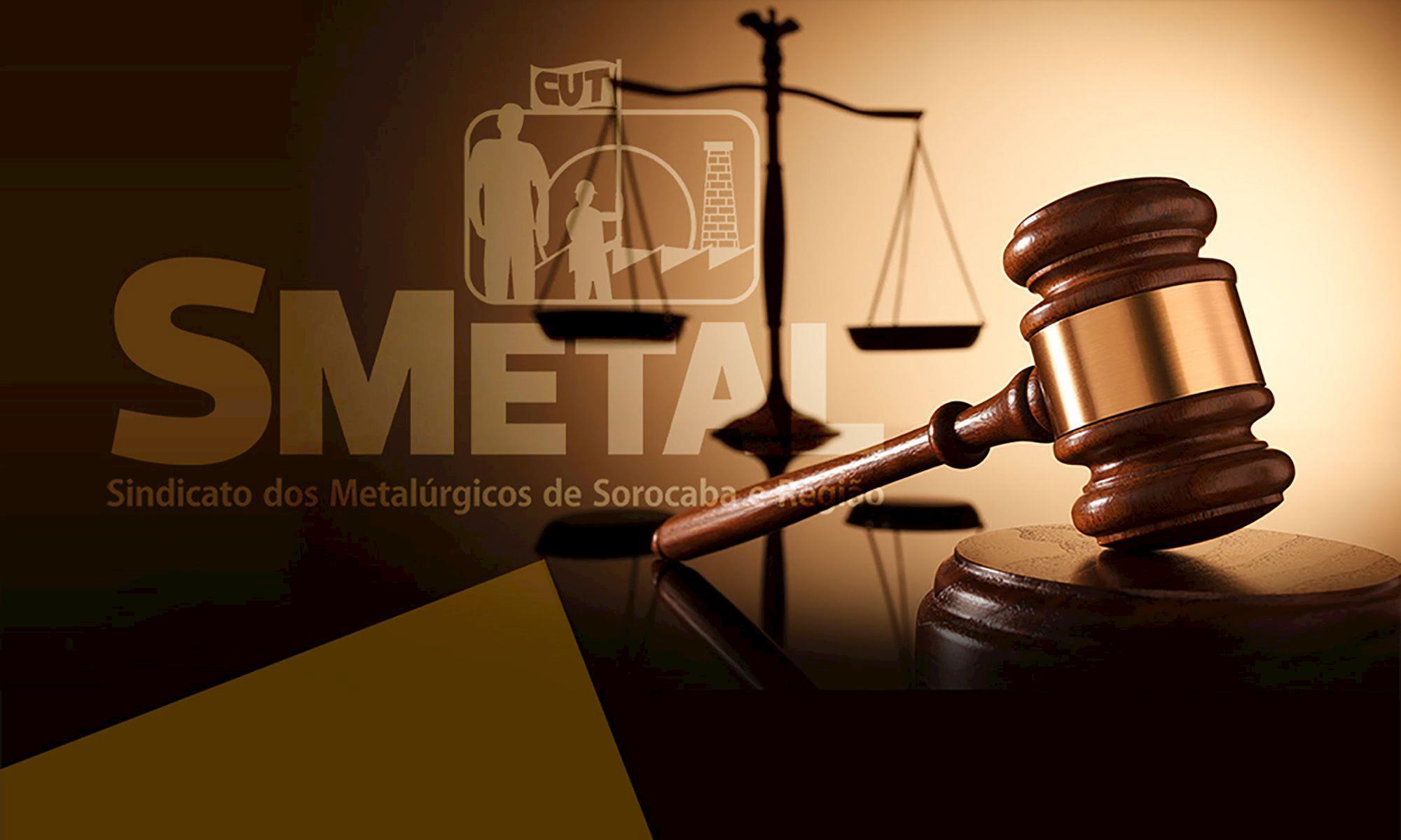 jurídico, smetal, sorocaba,, Divulgação