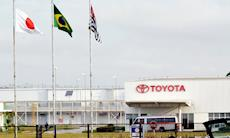 Sorocaba: Toyota anuncia férias coletivas a partir de terça-feira